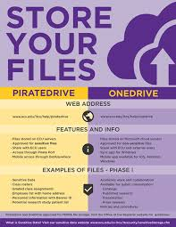 academic works ecu online storage security network storage