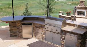 outdoor bbq grill island kitchen barbecue plans designs