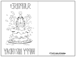 Black And White Birthday Cards Printable Printable Coloring Birthday Card Special Offer Cards Print