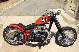 yamaha xs650 motorcycle hardtail bobber