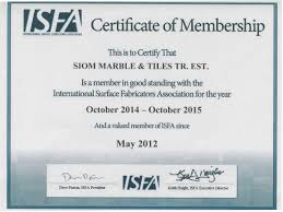Certification Appreciation Letters Siom Marbles