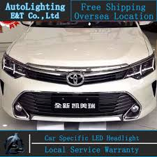 2014 Camry Led Lights Car Styling New For Toyota Camry Headlights 2014 2015 New