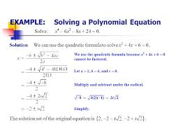 x 4 equation solver tessshlo 10 4 solving polynomial