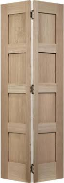 lpd contemporary oak shaker 4 panel bifold door