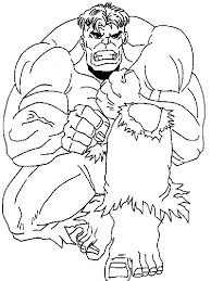 hulk coloring picture pages 3 pictures free