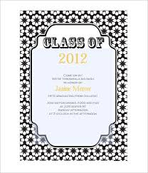 40 Beautiful Graduation Invitation Templates Sample Templates Extraordinary Invitation Templates Word
