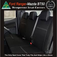 mazda bt 50 tailor made rear seat covers new 2017 model available