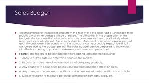 Project On Family Budget For A Month Budget And Budgetary Control