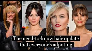 Hair Cut Style Trends Spring Summer 2019 Hairstyles Youll See