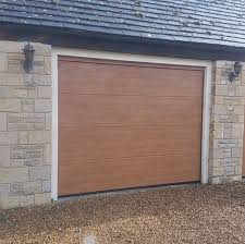 hormann lpu67 thermo l ribbed decograin steel sectional doors