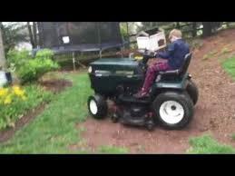 best garden tractor. Craftsman Garden Tractor 22.5 HP Kohler Command Best Demo Ever (
