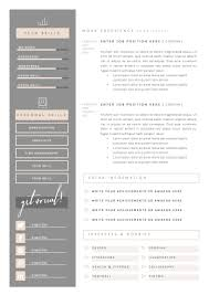 Adobe Illustrator Resume Template Awesome Resume Template 5Pages ...