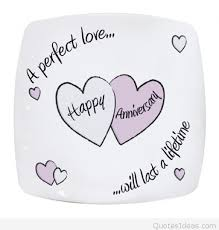 Anniversary Quote Awesome A Perfect Love Happy Anniversary Quote