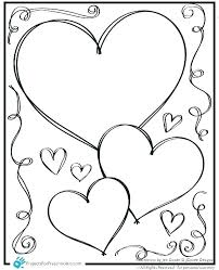 Free Printable Coloring Pages For Valentines Day With Valentine Kids