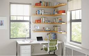 wall shelves office. float wood wall shelves office by ru0026b modernhomeofficeandlibrary houzz