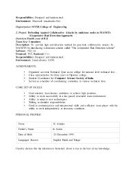 Amulya Resume