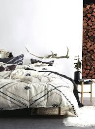 um image for kilim pattern duvet cover set simons rustic rusticelegance bohemian room black patterned duvet serena blue