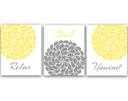 gray and yellow bathroom accessories lisaasmith  on grey and yellow bathroom wall art with nice yellow accessories for bathroom image collection best