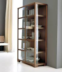 wood and glass display cabinets 3d model obj 1