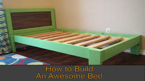 Make a DIY Twin Bed in One Weekend - YouTube