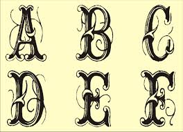 Free Printable Fancy Alphabet Letters Upper And Lower Case