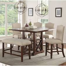 elegant counter height dining sets 5 piece awesome counter height dining room chairs awesome dining table