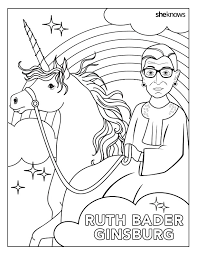2018 election coloring book this ruth bader ginsburg coloring book is what dreams are made of