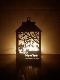Manger Light Christmas Light Decoration Christmas Lantern Wood Lantern