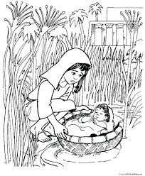 Baby Moses Coloring Pages Baby Coloring Pages Baby Coloring Pages