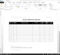 Application Templates For Word Amazing Employee Corrective Action Examples Accurate Form As Sample Example