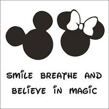 Disney Font Disney Font Believe In Magic Choose Size Color Mickey Mouse Minnie Mouse Ebay