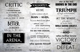 Man In The Arena Print Typography For The Home Brene Brown