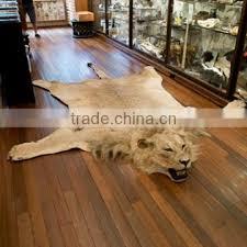 taxidermy synthetic faux lion skin rug of 3 wall hanging animal head from china suppliers 138040309