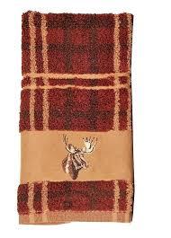 cowhide bathroom rugs best stuff images on moose plaid towels rustic decor