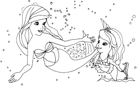 Printable 10 Sofia the First Mermaid Coloring Pages 6492 - Sofia ...