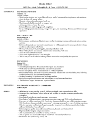 Welder Resume Welder Resume Cover Letter Samples Sample Canada Supervisor Job 8