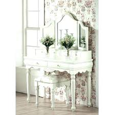 White Bedroom Vanity Set With Mirror Antique Vintage Unit – themile