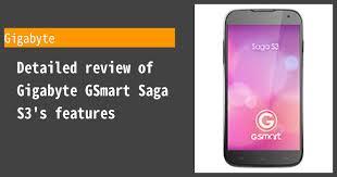 Gigabyte GSmart Saga S3 ...