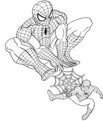 More cartoon characters coloring pages. Spiderman Coloring Pages Draw Templates And Images To Print