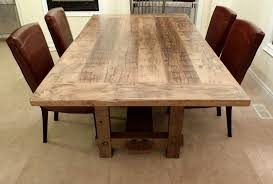 reclaimed wood dining table ideas
