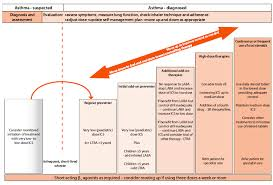 Asthma Management Flow Chart Physical Inactivity In Children With Asthma A Resource For
