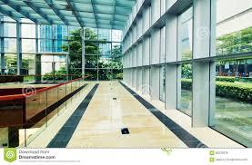 modern architecture interior office. Modern Glass Commercial Building Architecture Interior Office