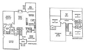 uncategorized 2 story house plans with first floor master for best two