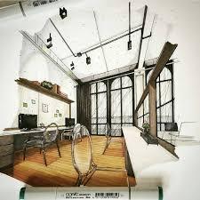 Marker Rendering Interior Design Using Marker To Render An Interior Sketch Adding Detail To