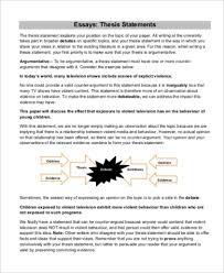 9 Argumentative Essay Samples Pdf Word