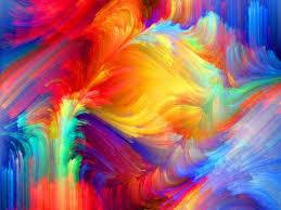 spot relief paint volume pattern rainbow