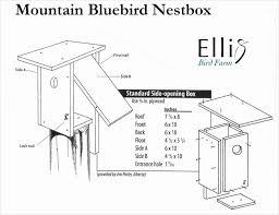 bluebird house plans. Bluebird House Plans Free Elegant Eastern Modern Pdf Bird Houses Finch Sparrow