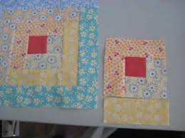 Beginner Log Cabin Block - Quilting Tutorial from ... & The wonderful thing about chain piecing is that when you've sewn the last  log 19 times, all of your blocks are done. Now you can go to your design  wall and ... Adamdwight.com