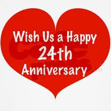 Happy 24th Anniversary Wishes Google Search Wedding