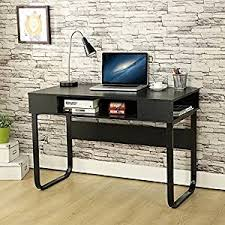 computer office table. EBS Simple Style Office Desk Computer PC Home Workstation Kids Study Table - Black 110 T